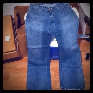 Seven7 womens light color jeans